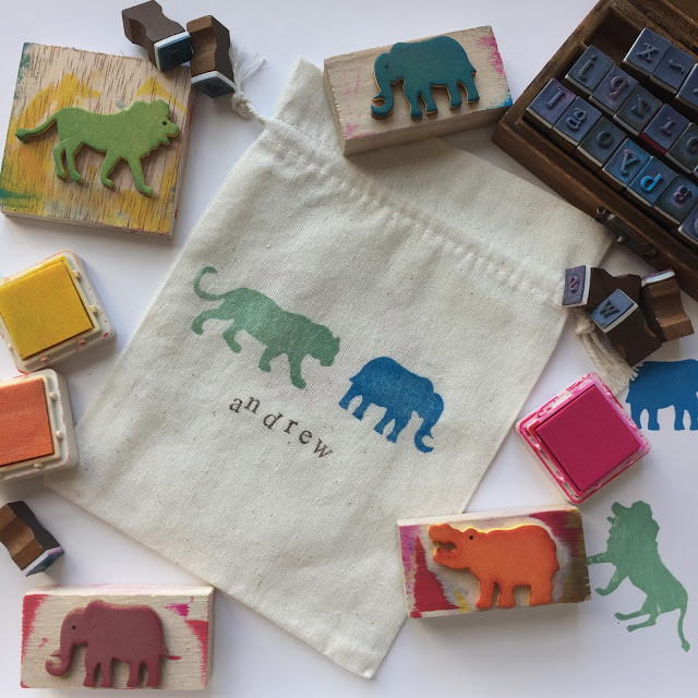 WahSoSimple Stamp A Pouch