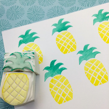 DIY Craft: Handmade Rubber Stamps, Just Pretty Prints