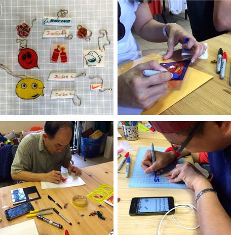WahSoSimple Craft Workshop Shrink Art