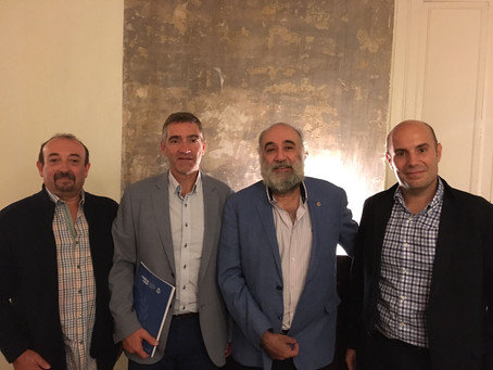 Reunión entre el Consejo COLEF y el Consejo General de la Psicología de España