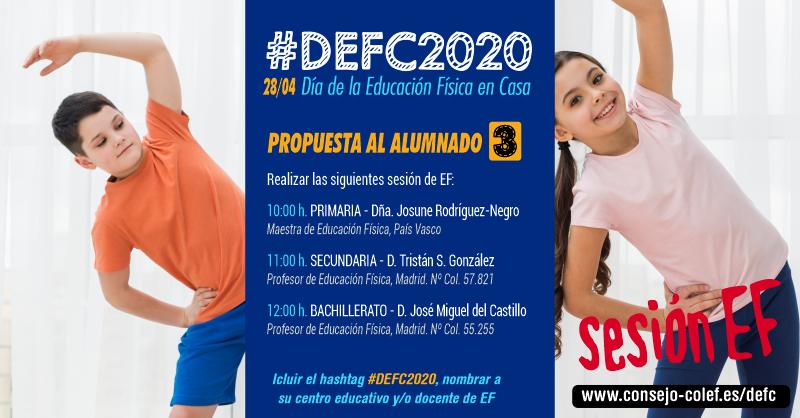 Propuesta 3 #DEFC2020