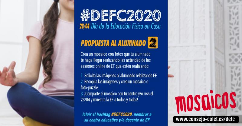 Propuesta 2 #DEFC2020