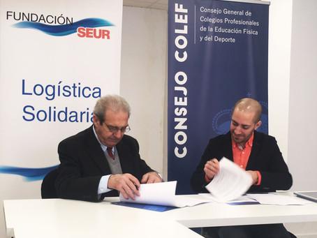 Fundación SEUR muestra su interés en las iniciativas del Consejo COLEF, encaminadas a la visibilidad