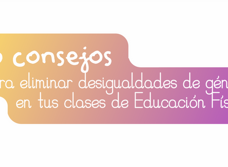 """APEFADAL presenta su decálogo de """"consejos para eliminar desigualdades de género en las clases"""