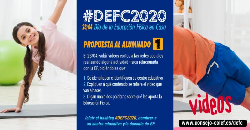 Propuesta 1 #DEFC2020