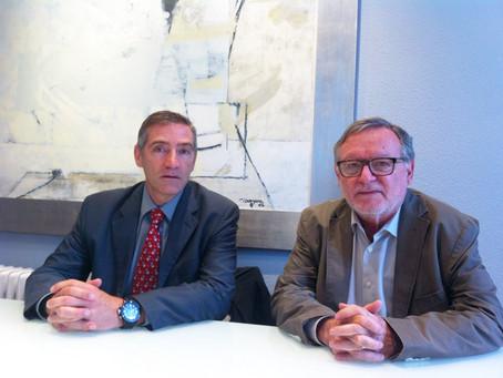 Reunión con el presidente de Unión Profesional