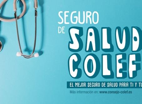Nuevo seguro de salud COLEF para todos los colegiados y familiares. ¡Disfruta de un seguro de salud