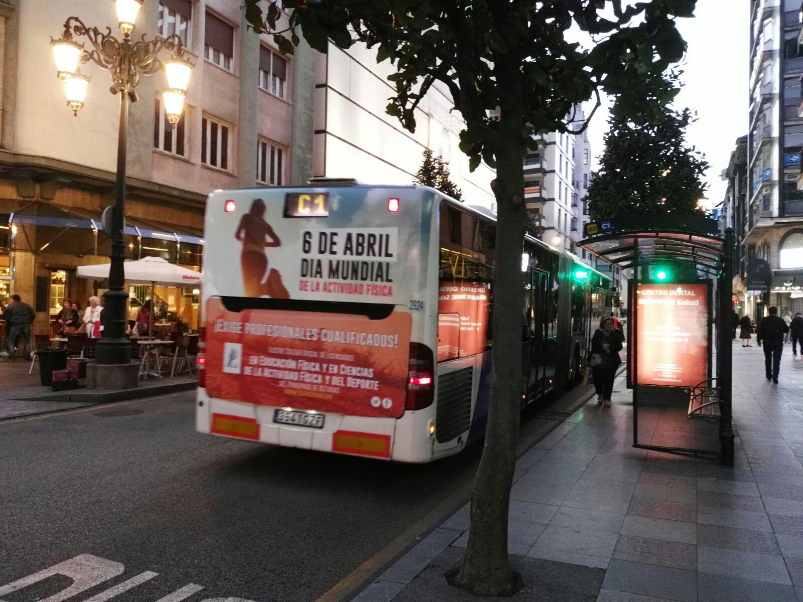 Bus AF - Gijón
