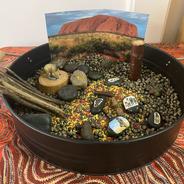 Aboriginal and Torres Strait Islander small world tray