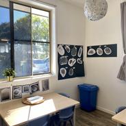 Art area: Space Project in Preschool Room