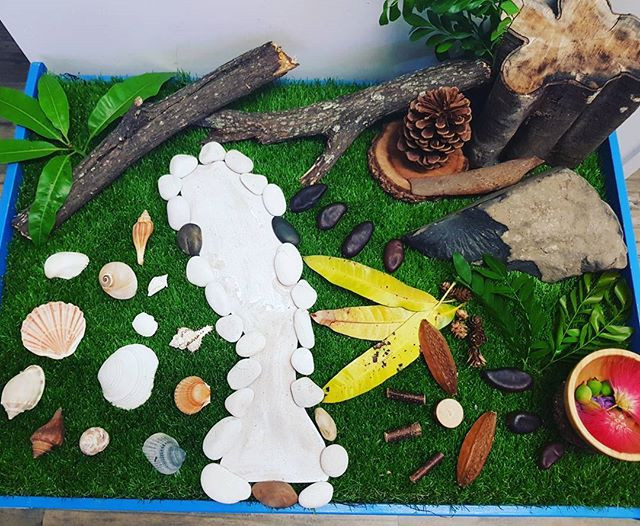#natureplay including #bush and #beach #