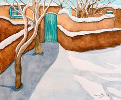 Adobe in Winter