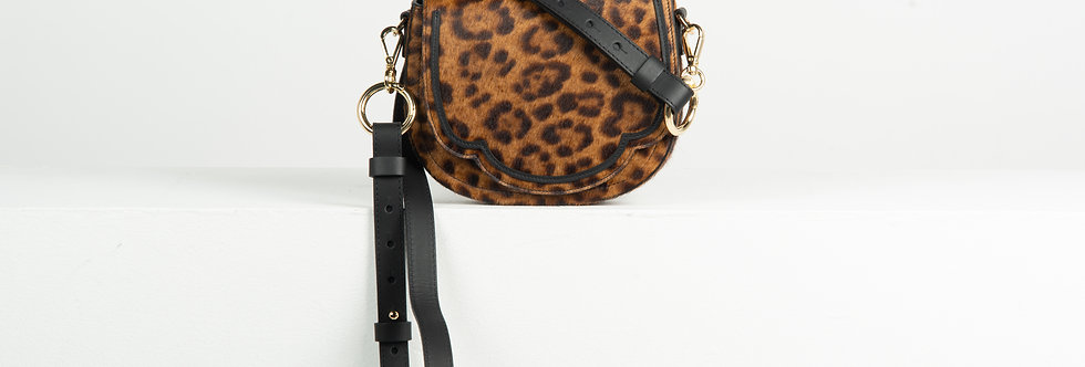 Mini Luna crossbody - leopard