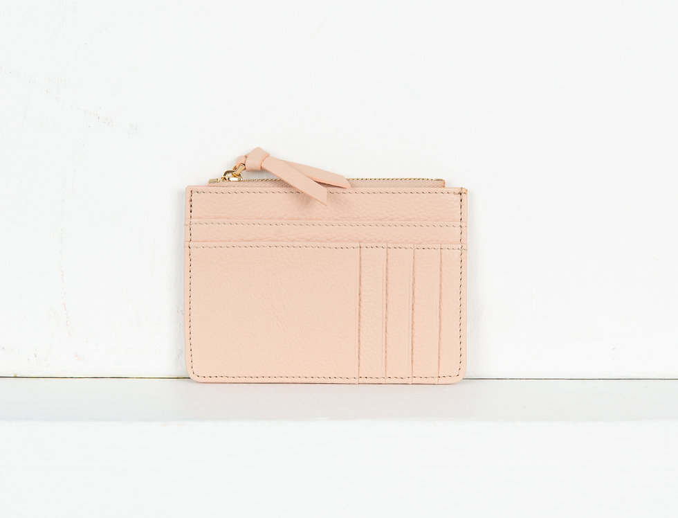 Mia purse - blush pink