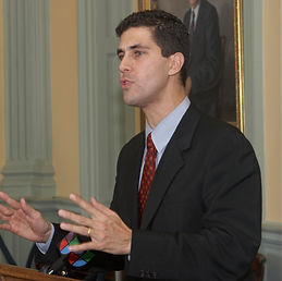 Barrios State House podium.jpg