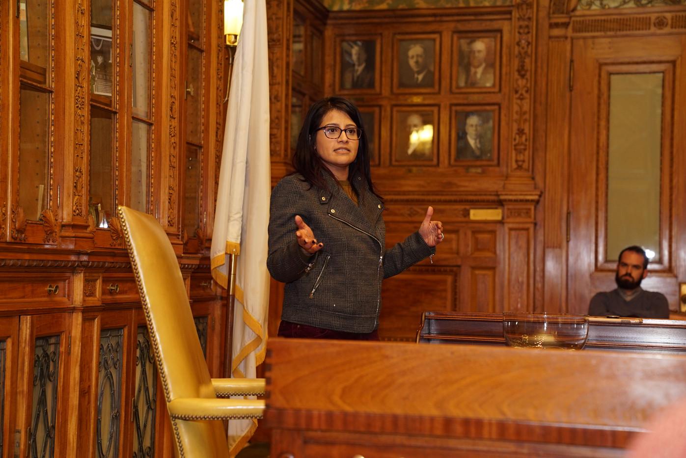 Puja Mehta - Sen. Pres. Spilka's Distric