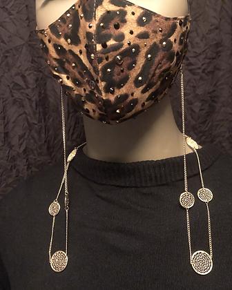 Gold Mask Chain/ Pendant