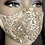 Thumbnail: Gold Sequin Lace Mask