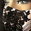 Thumbnail: White Mask with Black Beaded Lace Applique