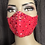 Thumbnail: Red  Mask w/ Rhinestones