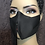 Thumbnail:  Black Invisible Zipper Mask