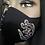Thumbnail: Black Mask w/ Rhinestones Adinkra Symbol