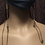 Thumbnail: Antique Bronze Mask Chain/Pendant