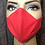 Thumbnail: Red Invisible Zipper Mask