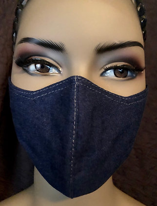 Soft Denim Mask
