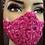 Thumbnail: Fuchsia Lace Mask