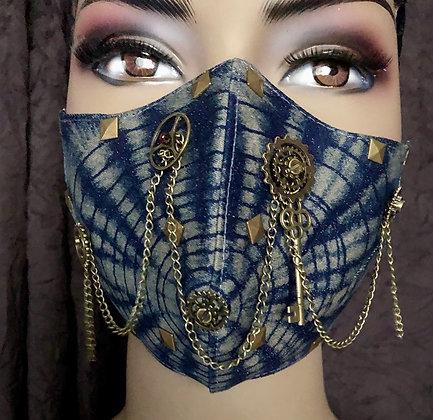 Spiderweb Steampunk Mask