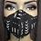 Thumbnail:  Invisible Zipper Mud Cloth Print Mask