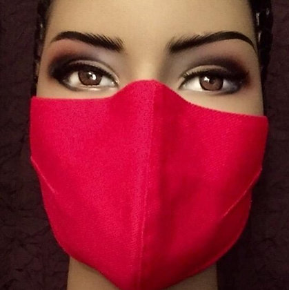 Red Structured Mask