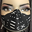 Thumbnail: Mud Cloth  Print Horizontal Zipper Mask