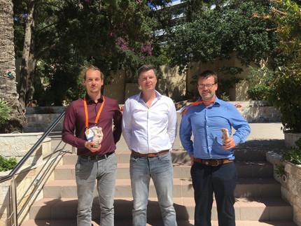 Alex Trotier and James Britton Receive Awards at TERMIS EU Meeting in Rhodes