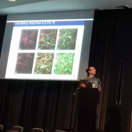 Alex Trotier Presents HisResearch at the Gordon Research Seminar, 'Molecularand Cellular Mecha