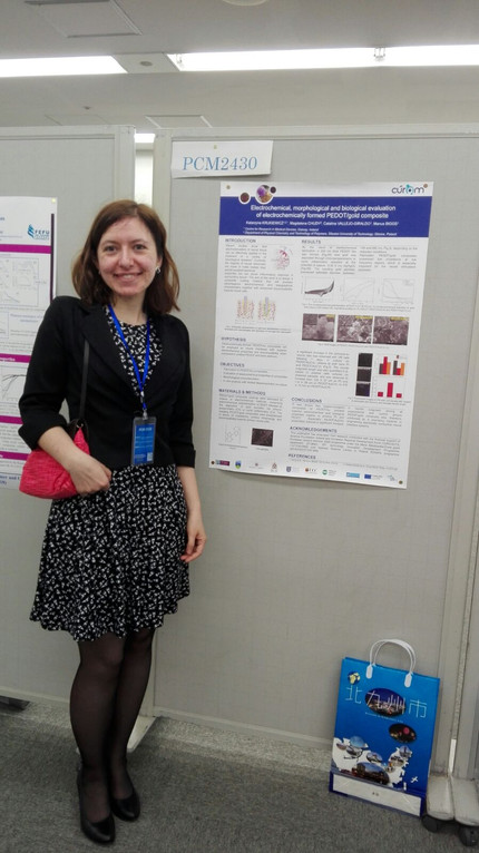 Dr Katarzyna Krukiewicz Presents Her Research at the 5th Global Conference on Polymer and Composite
