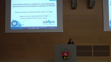 The Biggs Lab Presents New Research at 23rd Topical ISE Meeting inVilnius, Lithuania