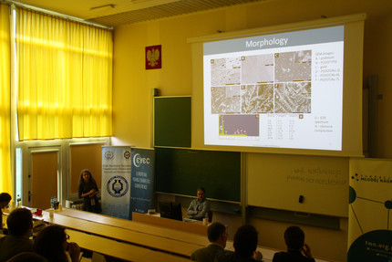 Malgorzata Skorupa presents her research at 7th European Young Engineers Conference