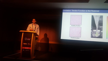 Marc Fernandez Presents New Research From The Biggs Labat the 8th World Congress of Biomechanics in