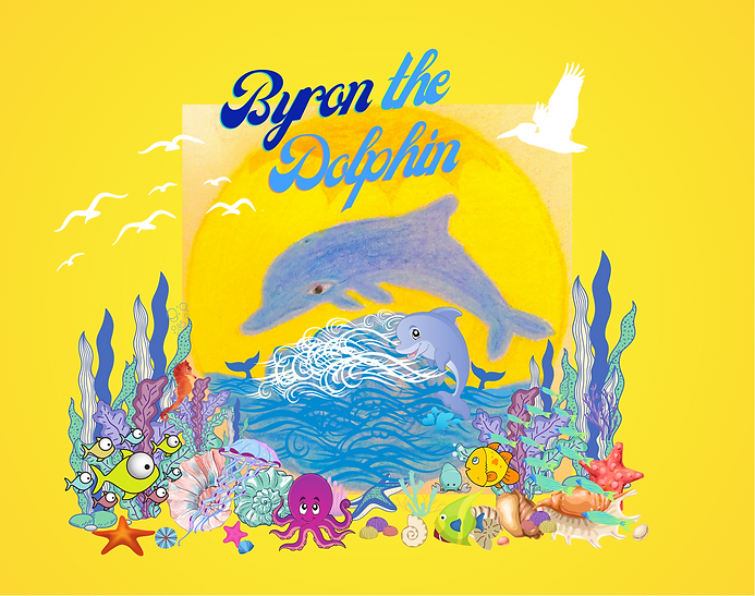 Byron the Dolphin Song and Book out now on Spotify and Amazon