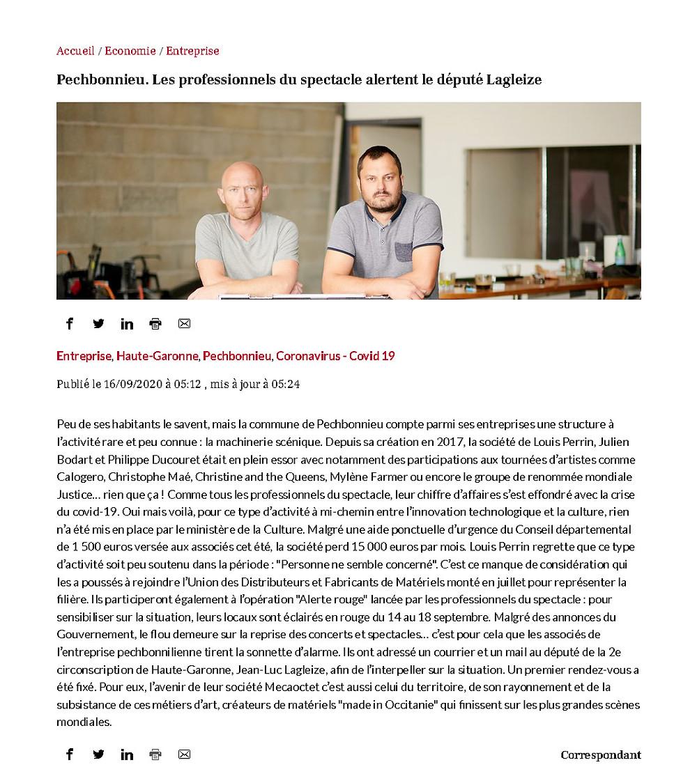 Louis Perrin, Julien Bodart et Philippe Ducouret de MECAoctet tirent la sonnette d'alarme…