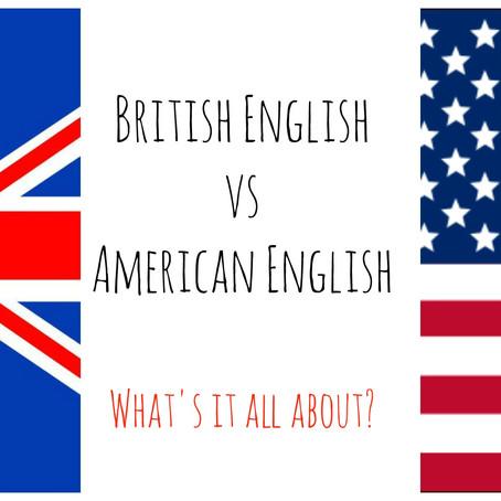 British English v American English