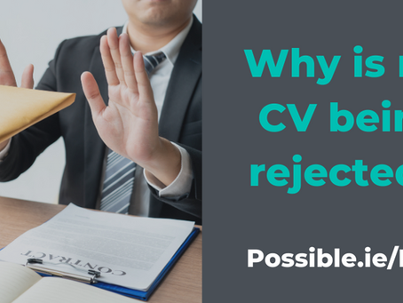 Why is my CV Being Rejected?