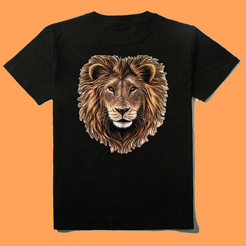 Lion Head T Shirt