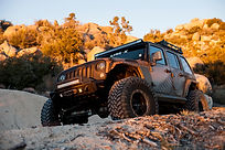 Modified Off-Road Jeep with LINE-X Protective Coating