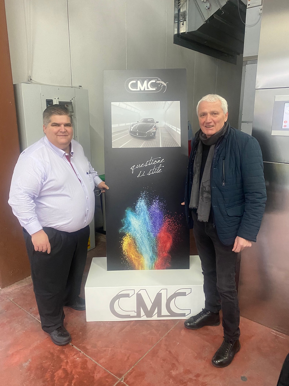 CMC Paint Booth Signage