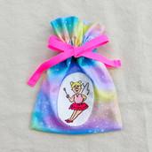 妖精 レインボー 巾着小