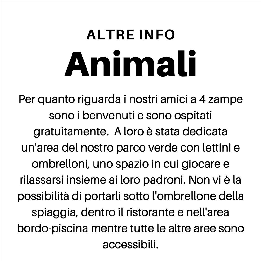 Animali benvenuti in vacanza