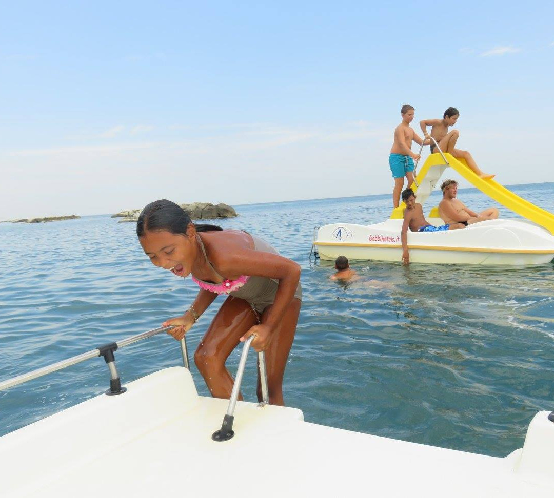 Spiaggia lisa n11 Gobbi Hotels Gatteo Mare